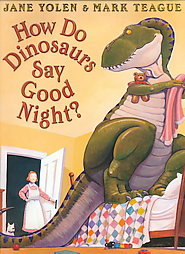 how do dinosaurs say good night